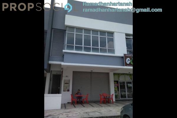 Shop For Rent in Jade Hills, Kajang Freehold Unfurnished 0R/0B 2.4k