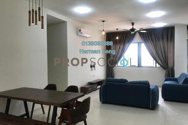 共管公寓 单位出租于 The Andes, Bukit Jalil Freehold Fully Furnished 3R/2B 2.0千