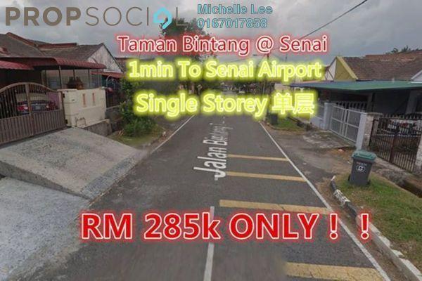 For Sale Terrace at Taman Senai Utama, Senai Freehold Unfurnished 3R/2B 285k