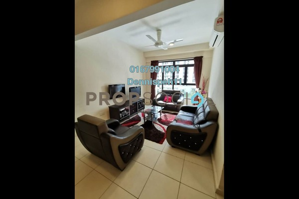 Condominium For Rent in The Garden Residences, Skudai Freehold Fully Furnished 3R/2B 1.6k