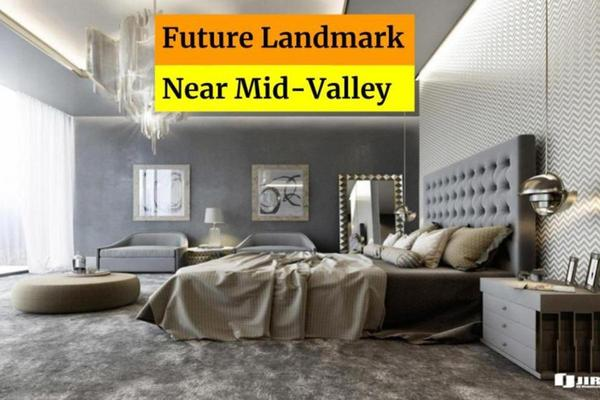 Condominium For Sale in Centrepoint, Mid Valley City Freehold Fully Furnished 3R/2B 489k