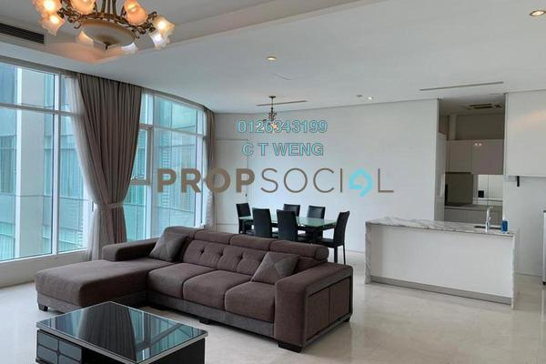 Condominium For Rent in Quadro Residences, KLCC Freehold Fully Furnished 3R/4B 6.5k