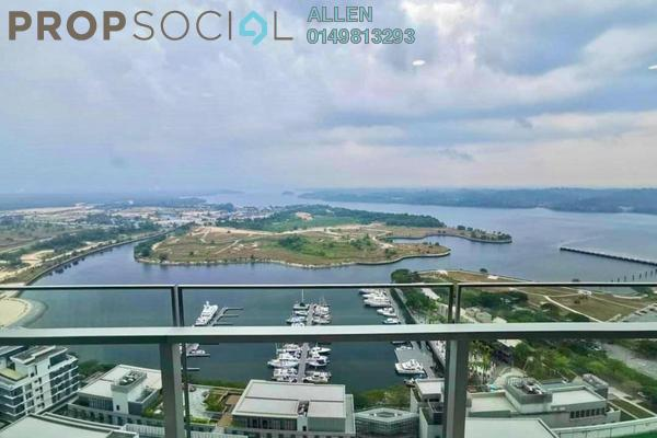 For Rent Condominium at Imperia, Puteri Harbour Freehold Fully Furnished 3R/4B 5.2k