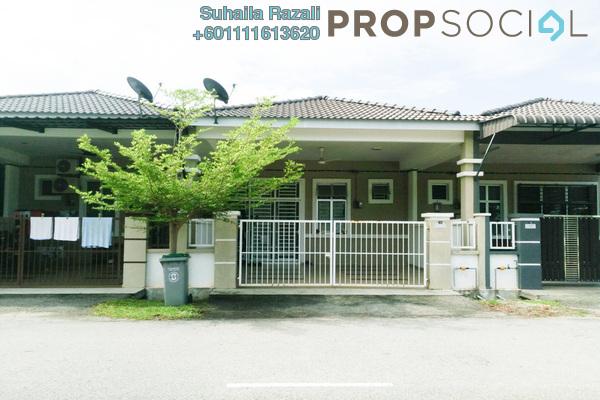 Terrace For Sale in Emerald Garden, Bandar Putera Indah Freehold Semi Furnished 4R/2B 295k