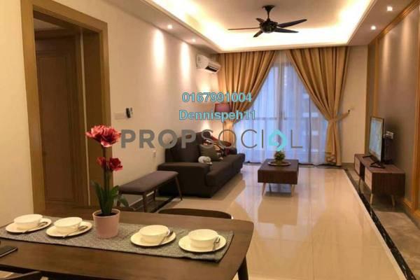 Condominium For Sale in R&F Princess Cove, Johor Bahru Freehold Semi Furnished 2R/2B 980k