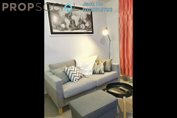 Serviced Residence For Rent in Kanvas, Cyberjaya Freehold Fully Furnished 1R/1B 1.2k