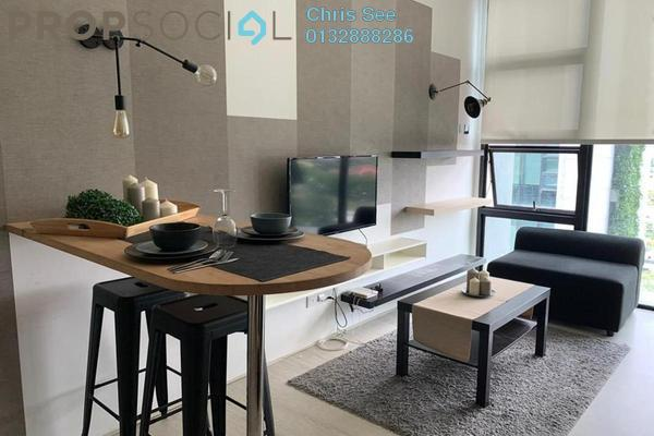 Duplex For Rent in The Square @ One City, Subang Jaya Freehold Fully Furnished 1R/1B 1.65k