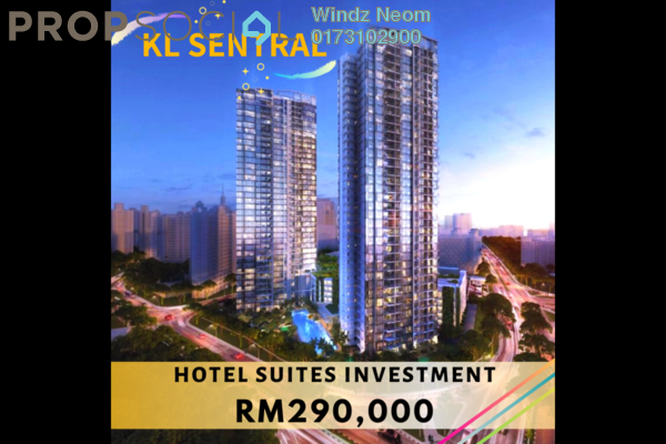For Sale SoHo/Studio at Riveria City, Brickfields Freehold Fully Furnished 1R/1B 290k
