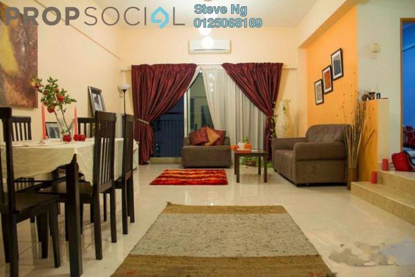 Condominium For Sale in Kelana Mahkota, Kelana Jaya Freehold Semi Furnished 3R/2B 520k