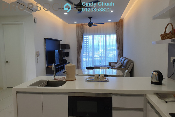Condominium For Rent in EcoSky, Kuala Lumpur Freehold Fully Furnished 3R/2B 2.2k