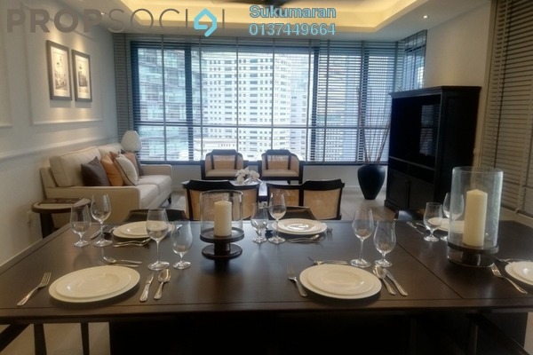 Serviced Residence For Sale in The Ruma, KLCC Freehold semi_furnished 2R/2B 1.98m