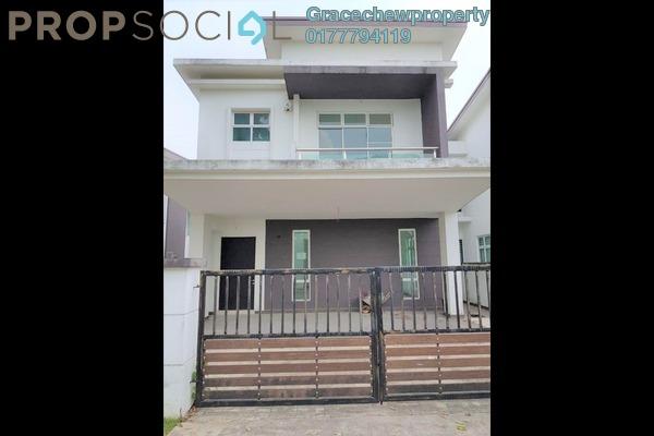 Semi-Detached For Sale in Taman Permas Jaya, Bandar Baru Permas Jaya Freehold Semi Furnished 4R/5B 1.2m