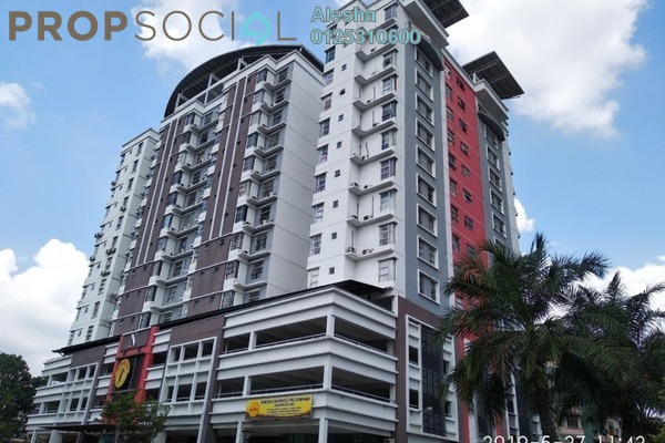 Serviced Residence For Sale in Calisa Residences, Puchong Freehold Unfurnished 3R/2B 252k