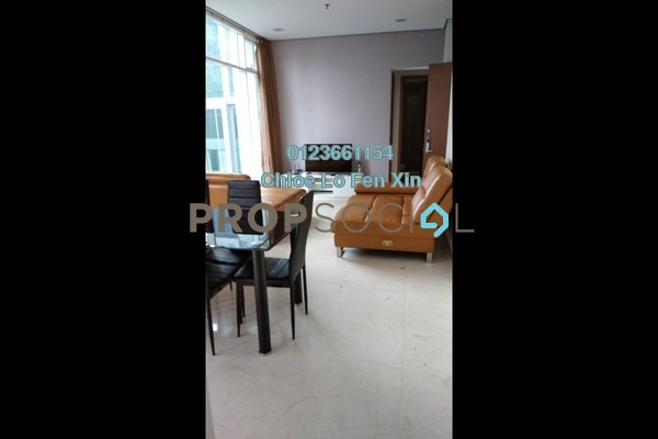 Serviced Residence For Rent in Soho Suites, KLCC Freehold Fully Furnished 2R/2B 3.2k