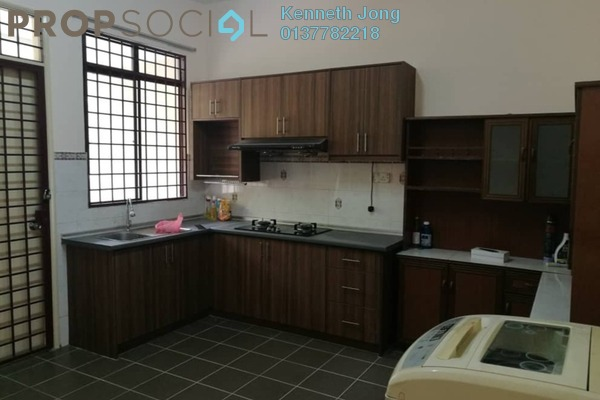 Terrace For Rent in Sri Suria, Bukit Rimau Freehold Semi Furnished 4R/3B 1.9k