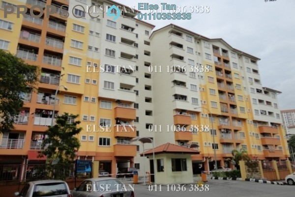 Condominium For Sale in Merdeka Villa, Ampang Freehold Semi Furnished 3R/2B 270k