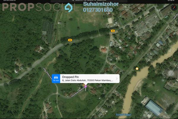Land For Sale in Kampung Mambau, Mambau Freehold Unfurnished 0R/0B 290k