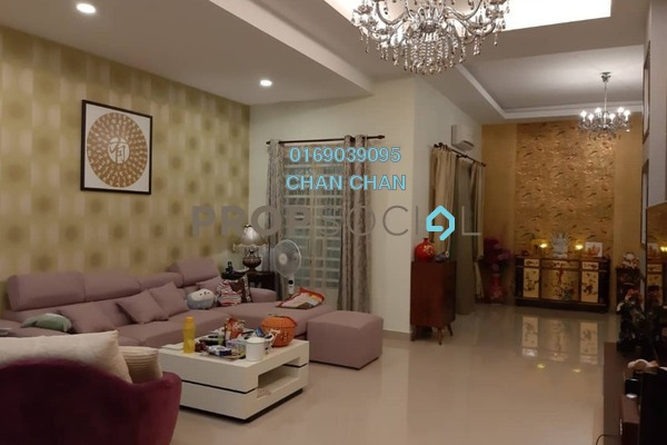 Semi-Detached For Sale in Mon't Jade, Seremban Freehold Fully Furnished 5R/4B 748k