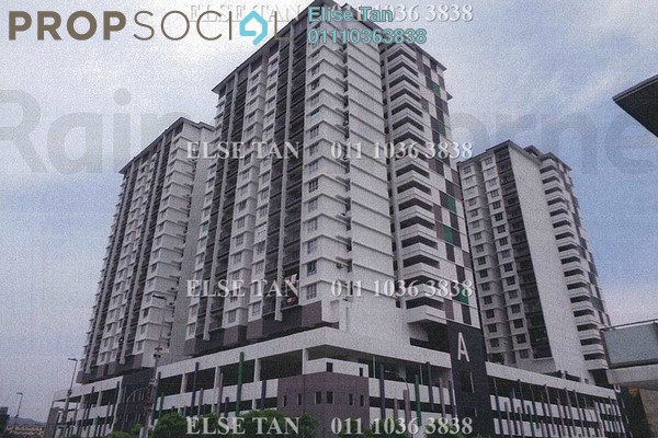 Condominium For Sale in The Greens @ Subang West, Shah Alam Freehold Semi Furnished 3R/2B 336k
