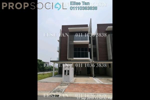 Townhouse For Sale in The Vale @ Sutera Damansara, Damansara Damai Freehold Semi Furnished 4R/3B 612k