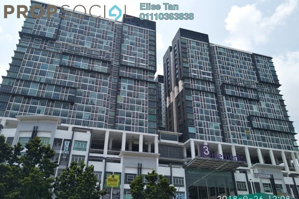 SoHo/Studio For Sale in 3Elements, Bandar Putra Permai Freehold Semi Furnished 0R/1B 178k