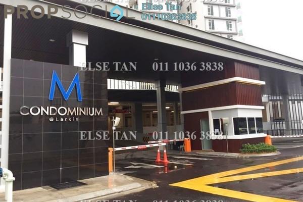 Condominium For Sale in M Condominium, Johor Bahru Freehold Semi Furnished 3R/2B 309k