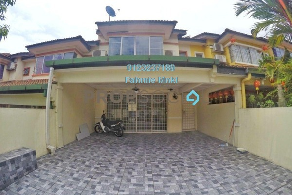 Terrace For Sale in Taman Puncak Kinrara, Bandar Kinrara Freehold Semi Furnished 4R/3B 570k