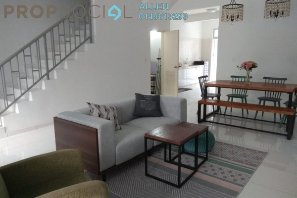 For Rent Terrace at Luciana, Setia Eco Gardens Freehold Semi Furnished 4R/4B 1.6k