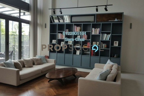Superlink For Sale in The Mansions, Desa ParkCity Freehold Semi Furnished 6R/8B 6m