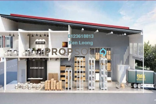Factory For Sale in Taming Jaya Industrial Park, Balakong Freehold Unfurnished 0R/2B 979k