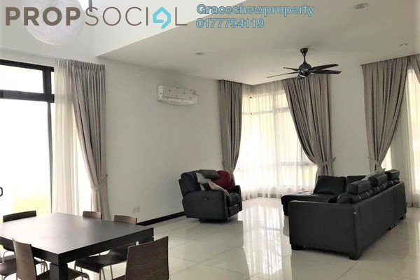 Terrace For Sale in The Straits View Residences, Bandar Baru Permas Jaya Freehold semi_furnished 5R/5B 1.75m