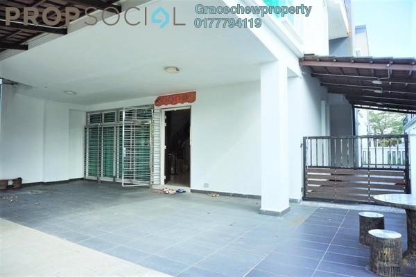 Semi-Detached For Sale in Taman Permas Jaya, Bandar Baru Permas Jaya Freehold Fully Furnished 4R/5B 1.38m