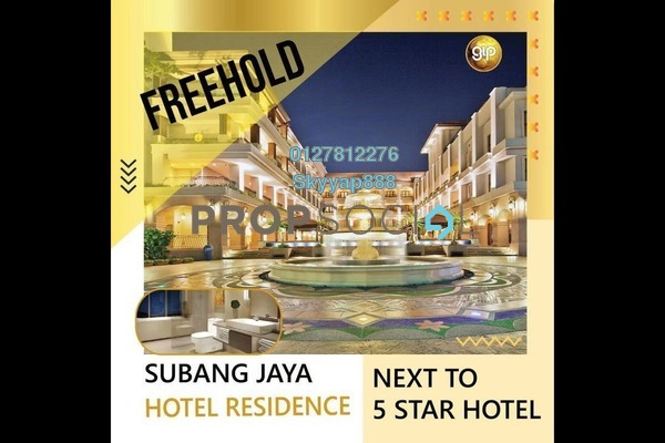 Condominium For Sale in SS12, Subang Jaya Freehold Fully Furnished 1R/1B 300k
