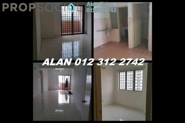 Apartment For Rent in Bougainvilla, Segambut Freehold Unfurnished 2R/2B 1.3k