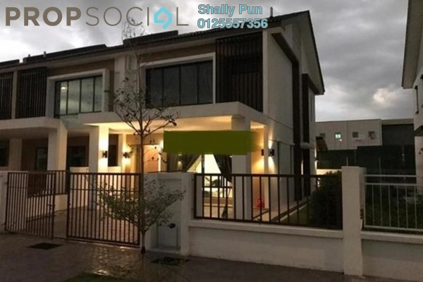 Terrace For Sale in Lakeside Residences, Puchong Freehold Unfurnished 4R/3B 980k