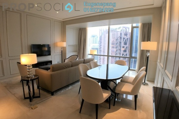 Condominium For Rent in Pavilion Suites, Bukit Bintang Freehold Fully Furnished 2R/2B 11k