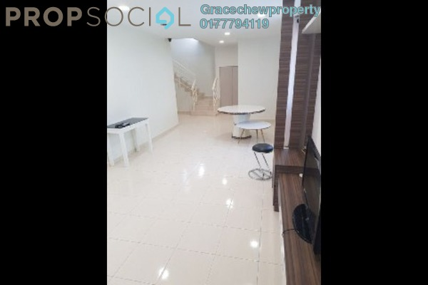 Townhouse For Sale in Nusa Villa, Skudai Freehold Semi Furnished 3R/3B 500k