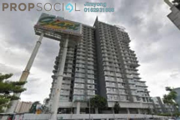 Serviced Residence For Sale in Cascades, Kota Damansara Freehold Semi Furnished 1R/1B 375k