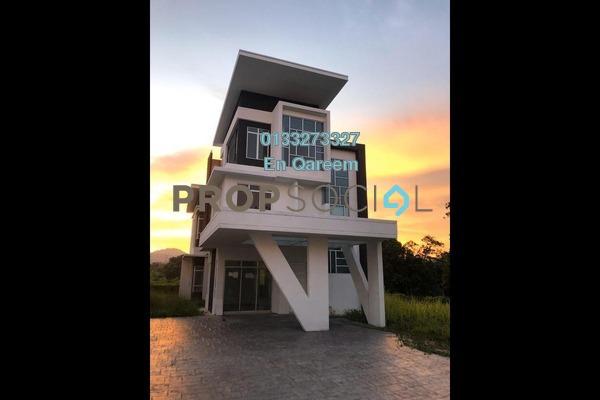 Bungalow For Rent in Taman Sikamat Baru, Seremban Freehold Unfurnished 4R/5B 2.5k