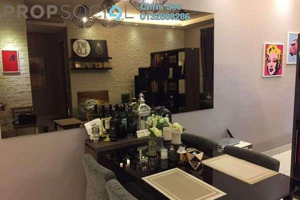 Condominium For Sale in Glomac Damansara Residences, TTDI Freehold Fully Furnished 3R/2B 800k