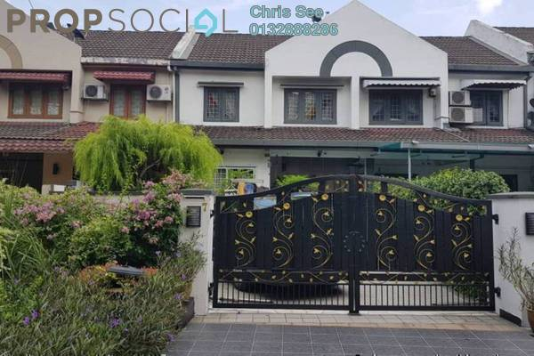 Terrace For Sale in USJ 2, UEP Subang Jaya Freehold Semi Furnished 3R/2B 688k