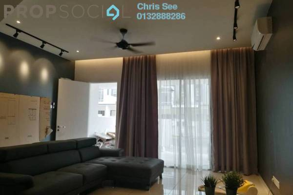 Terrace For Sale in Acacia Park, Rawang Freehold Fully Furnished 4R/3B 438k