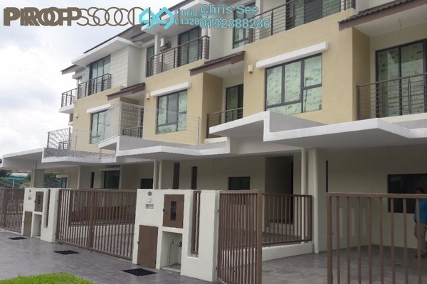 Terrace For Sale in Lakeside Residences, Puchong Leasehold Unfurnished 4R/5B 880k