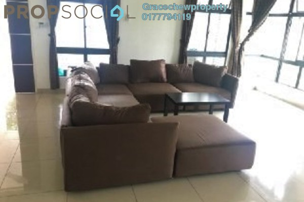 Superlink For Sale in Taman Bukit Indah, Bukit Indah Freehold Fully Furnished 4R/4B 1.1m