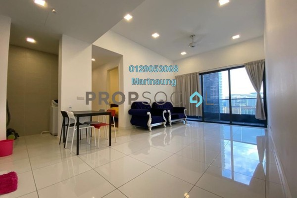 For Rent Condominium at The Veo, Melawati Freehold Semi Furnished 1R/1B 1.8k