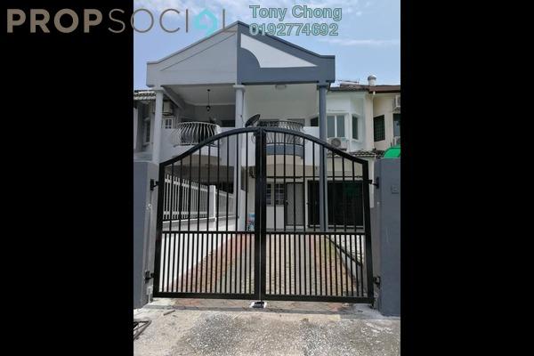 Terrace For Rent in Taman Sri Endah, Sri Petaling Freehold Semi Furnished 4R/3B 1.6k