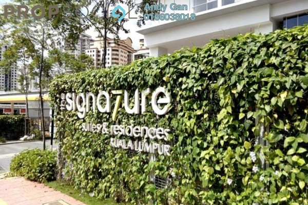 Serviced Residence For Rent in The Signature, Sri Hartamas Freehold Fully Furnished 1R/1B 2.4k