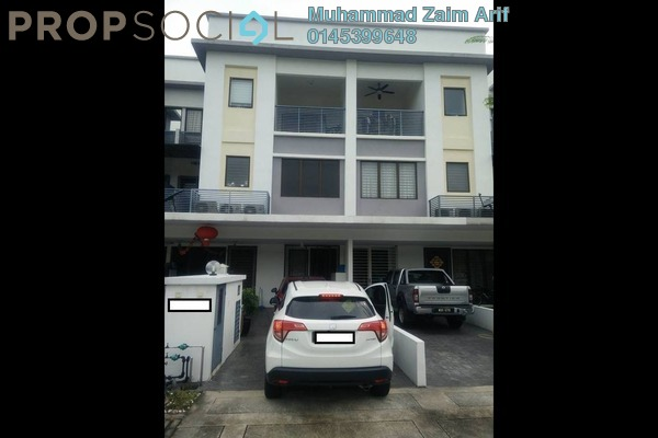 Townhouse For Sale in Odora Parkhomes, 16 Sierra Freehold Semi Furnished 3R/2B 550k