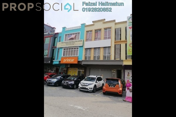 Shop For Rent in Section 9, Shah Alam Freehold Unfurnished 0R/1B 4.5k