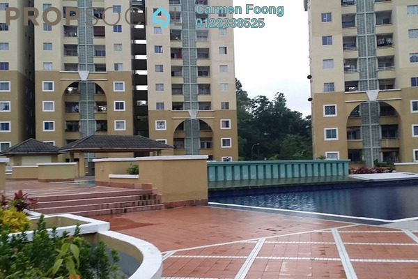 Condominium For Rent in Ketumbar Heights, Cheras Freehold Semi Furnished 2R/2B 1k